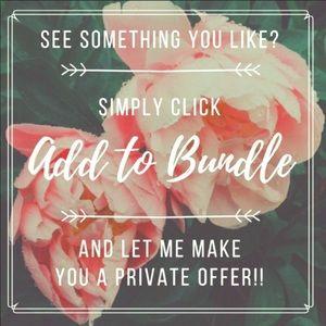 Bundle to Save 🥰